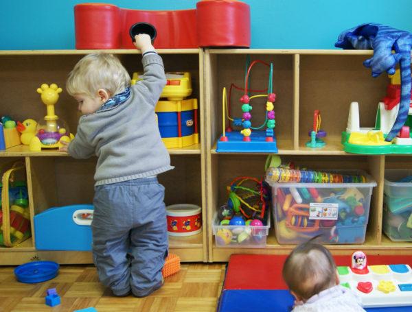 Children at La Pirouette part-time childcare